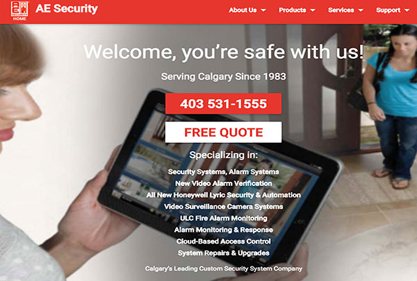 AE Security Residential and Commercial Security Systems