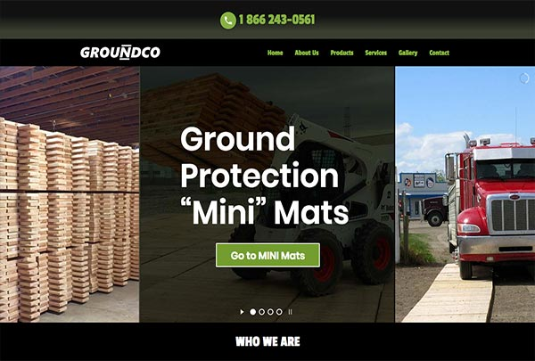 Groundco Access and Ground Cover Mats