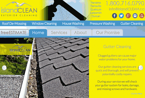 IslandCLEAN professional exterior cleaning services