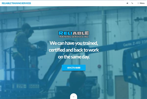 Reliable Training Vancouver
